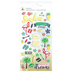 Momenta - Puffy Stickers - Tropical