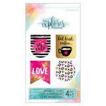 Momenta - The Explorer Journal Collection - Magnetic Clips - Geo Foil