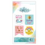 Momenta - The Explorer Journal Collection - Magnetic Clips - Unicorn
