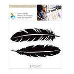 Momenta - Foam Stamps - Feathers