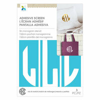 Momenta - Monogram Screen Stencils - Circle L - 3 Inch