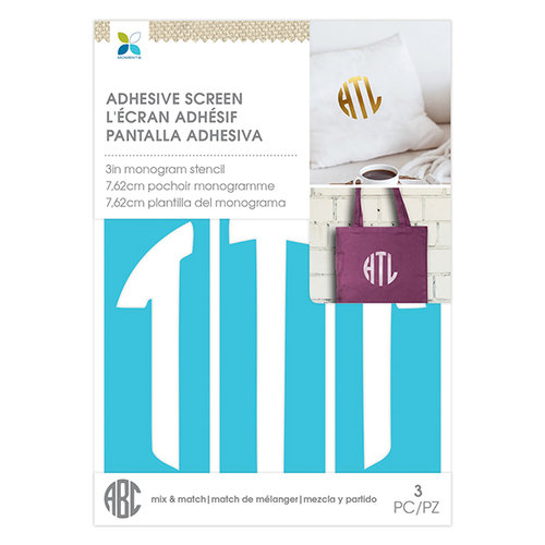 Momenta - Monogram Screen Stencils - Circle T - 3 Inch