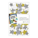 Momenta - Cardstock Stickers - Stars - Glitter