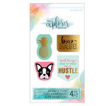Momenta - The Explorer Journal Collection - Magnetic Clips - Pineapple