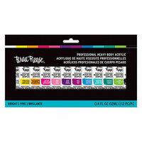 Brea Reese - Heavy Body Acrylic Paint - Brights - 12 Pack