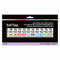 Brea Reese - Heavy Body Acrylic Paint - Pastels - 12 Pack