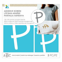 Momenta - Monogram Screen Stencils - Traditional - P