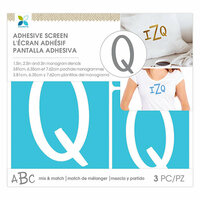 Momenta - Monogram Screen Stencils - Traditional - Q