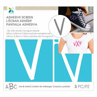 Momenta - Monogram Screen Stencils - Traditional - V