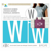 Momenta - Monogram Screen Stencils - Traditional - W