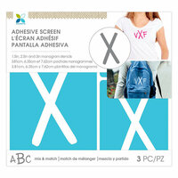 Momenta - Monogram Screen Stencils - Traditional - X