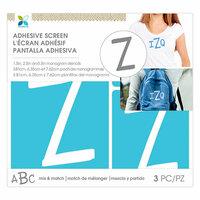 Momenta - Monogram Screen Stencils - Traditional - Z