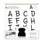 Momenta - Foam Stamps - Fun Font Alphabet