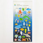 Momenta - Mini Puffy Stickers - Underwater