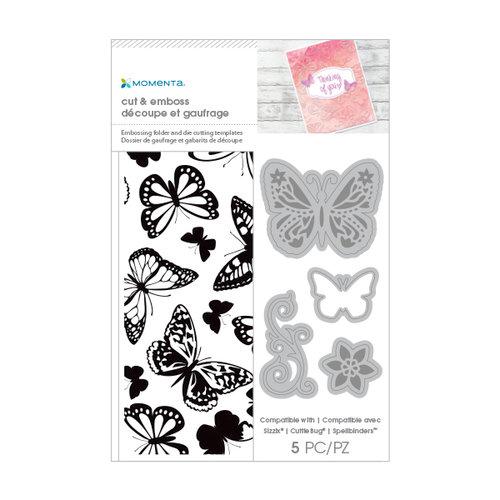 Momenta - Cut and Emboss Template - Butterflies