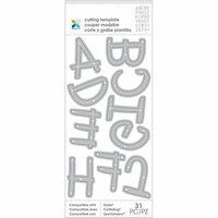 Momenta - Metal Die - Alphabet Uppercase Handwritten