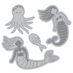 Momenta - Cut and Emboss Template - Mermaids