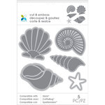 Momenta - Cut and Emboss Template - Seashells
