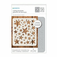Momenta - Metal Die Template- Star Confetti