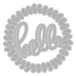 Momenta - Metal Die - Hello Detailed Circle