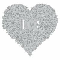Momenta - Metal Die - Intricate Floral Heart