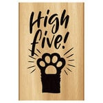 Momenta - Wood Mounted Stamps - High Five Paw