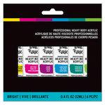 Brea Reese - Heavy Body Acrylic Paint - Brights - 6 Pack