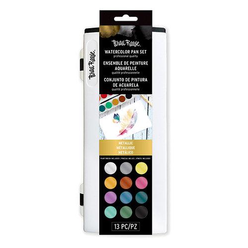 Brea Reese - Watercolor Pan Set - Metallic
