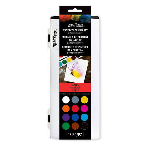 Brea Reese - Watercolor Pan Set - Core Colors