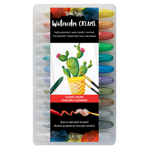 Brea Reese - Watercolor Creams - Classic Colors