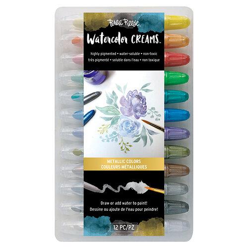 Brea Reese - Watercolor Creams - Metallic Colors