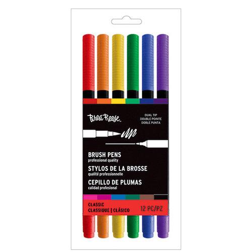 Brea Reese - Brush Pens - Primary - 12 Pack