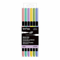 Brea Reese - Brush Pens - Pastel - 6 Pack