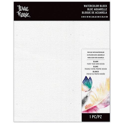 Brea Reese - Watercolor Block - 8 x 10 - Blank