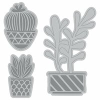 Momenta - Cut and Emboss Template - Cactus Succulents