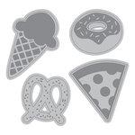 Momenta - Cut and Emboss Template - Junk Food