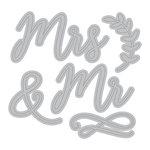 Momenta - Metal Die - Mr and Mrs