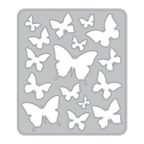 Black Momenta Butterfly Foam Stamp