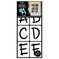 Art-C - Adhesive Stencils - Fun Font - 2 Inches