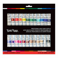 Brea Reese - Heavy Body Acrylic Paint - Classic - 24 Pack