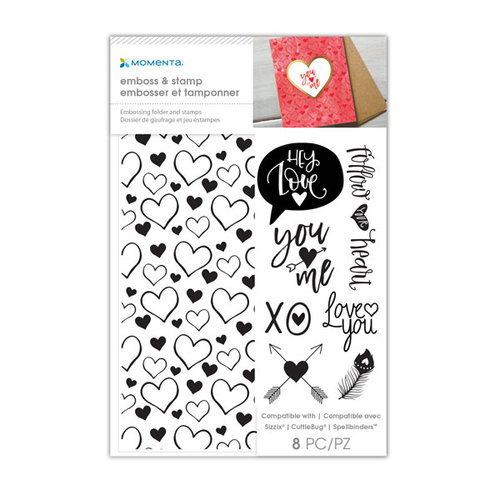 Momenta - Stamp and Emboss - Hey Love