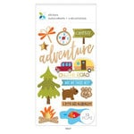 Momenta - Mixed Media Stickers - Adventure, On the Road, Camping