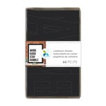 Momenta - Cardstock Stickers - Alphabet - 4 Inches - Black