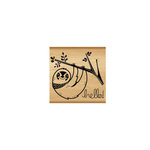 Momenta - Wood Mounted Stamps - Sloth Hello