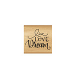 Momenta - Wood Mounted Stamps - Live Love Dream