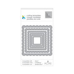 Momenta - Metal Die - 3.5 x 6.25 - Nested Square Borders