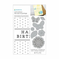 Momenta - Cut and Emboss Template - Happy Birthday
