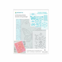 Momenta - Embossing Folder - Hello There Butterflies