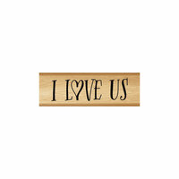Momenta - Wood Mounted Stamps - I Love Us