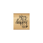 Momenta - Wood Mounted Stamps - You Are My Happy Place
